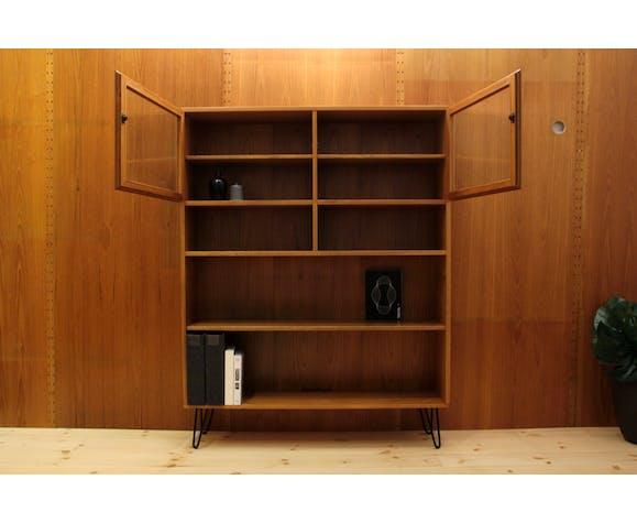 Bibliothèque danoise en bois de teck par Gunni Omann pour Omann Jun, 1960