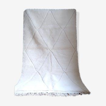Berber carpet Beni Ouarain off-white 240x150cm