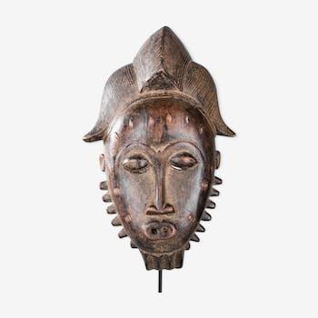Masque portrait Ndoma Baoulé