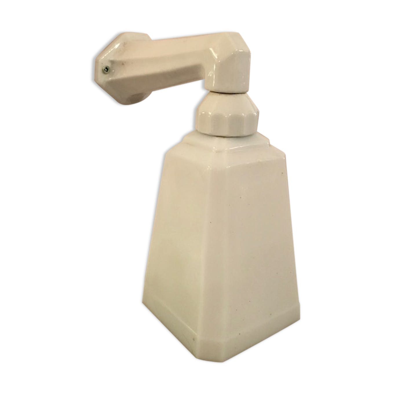 applique en céramique & opaline 1930 - céramique, porcelaine