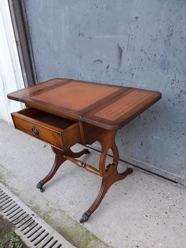 Table basse à volet