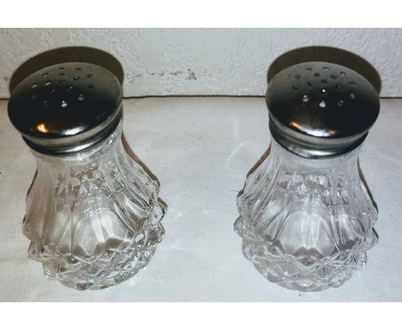 Arques crystal salt and pepper duo
