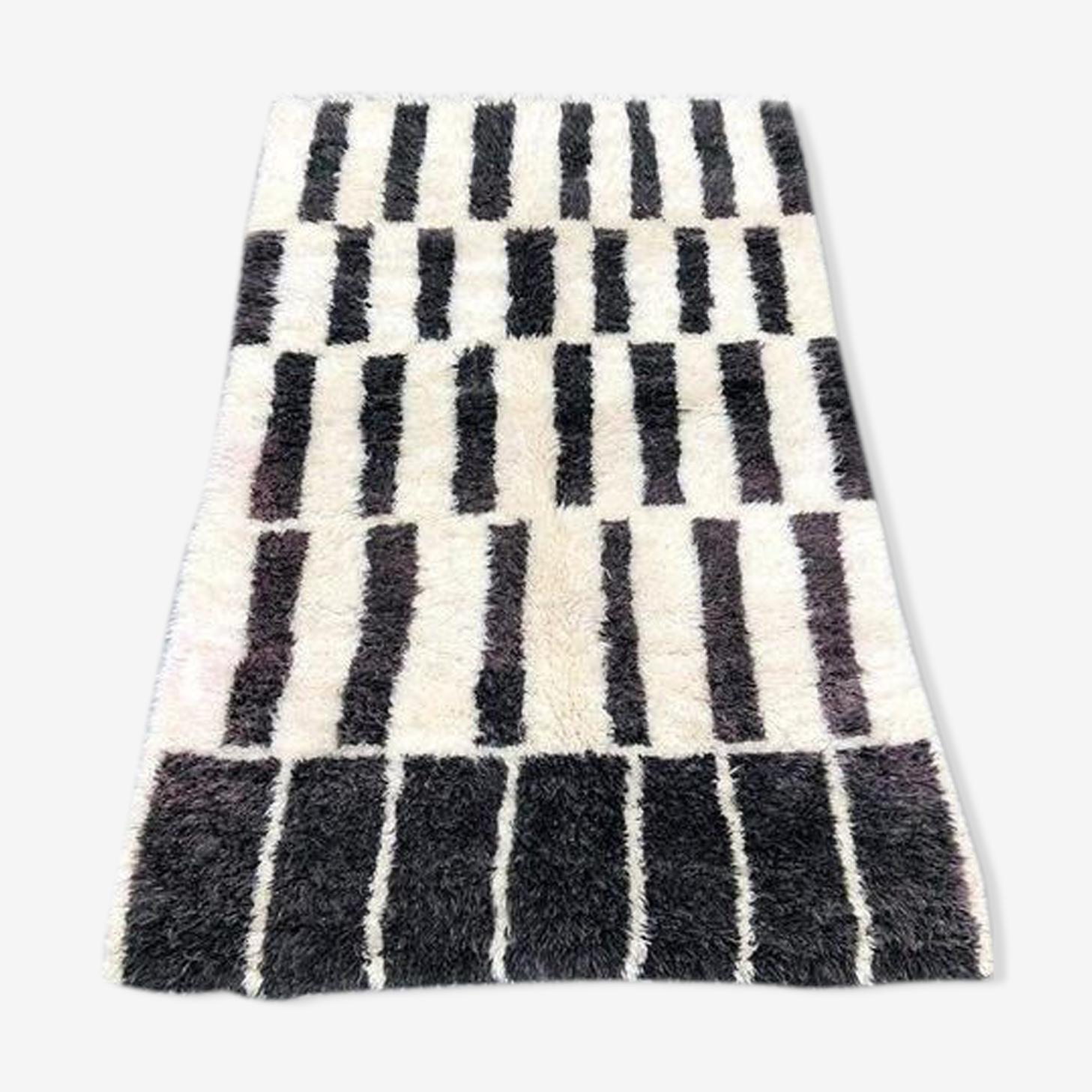 Carpet beni ouarain 270x175cm rug wool