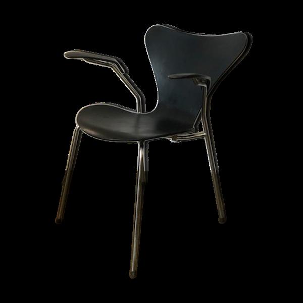 Fauteuil série 7 Arne Jacobsen pour Fritz Hansen