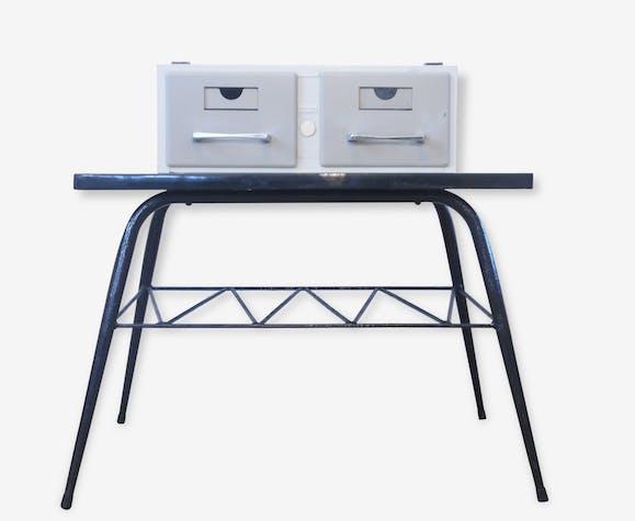 Casier / Bloc double tiroirs VAL REX- Rangement CD Fiches ...