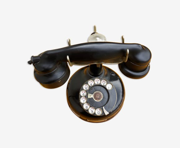 Old column phone
