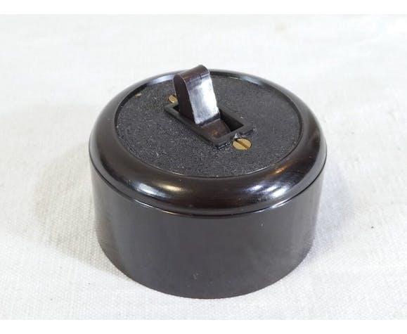 Interrupteurs '' va et vient '' en bakelite vintage electro securit