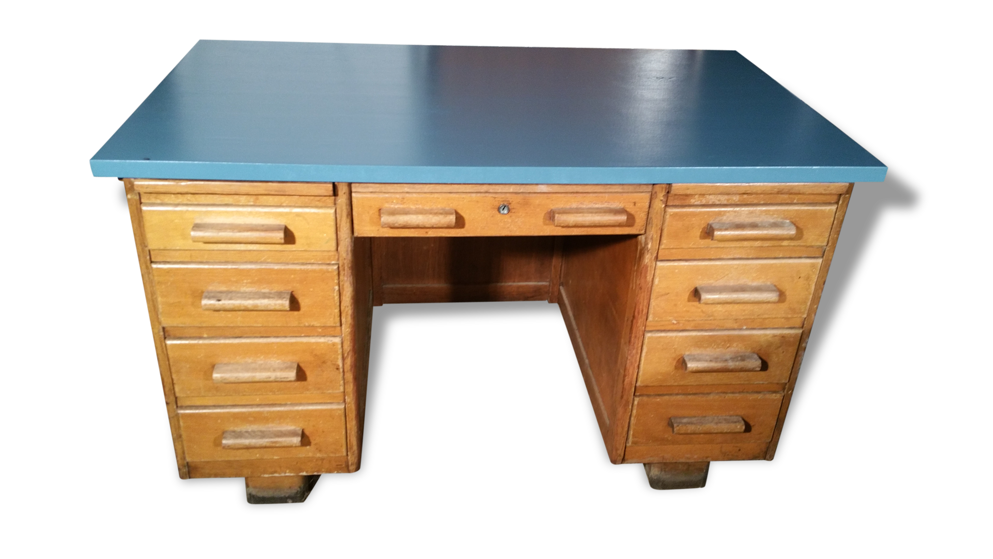 Bureau de notaire vintage bois matériau classique