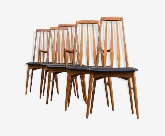 """""""Eva"""" chairs by Niels Koefoed for Koefoed Hornslet 1960"""