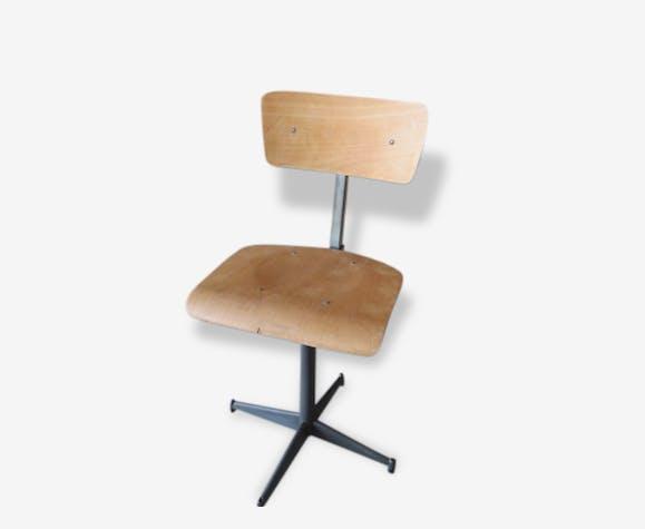 Ancienne De 0vp8woymnn Chaise Boismatériau Bureau Ou D'atelier 45qARjL3