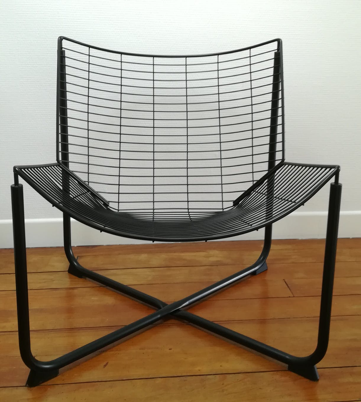 Set Giardino Rattan Ikea.Black Metal Armchair Design By Niels Gammelgard New Edition Ikea
