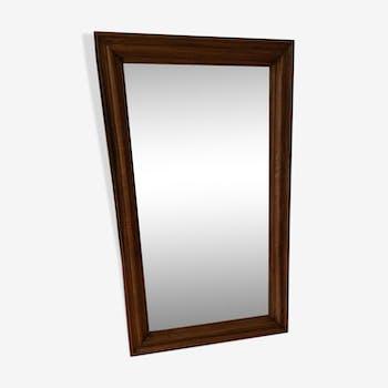 MIROIR exotic wood frame 77x130cm