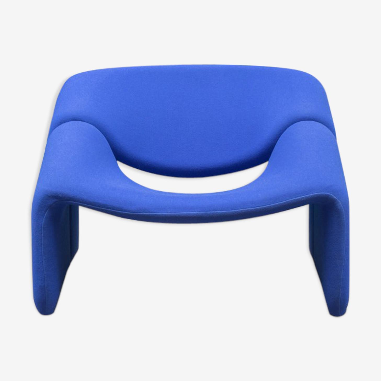 Fauteuil Groovy bleu