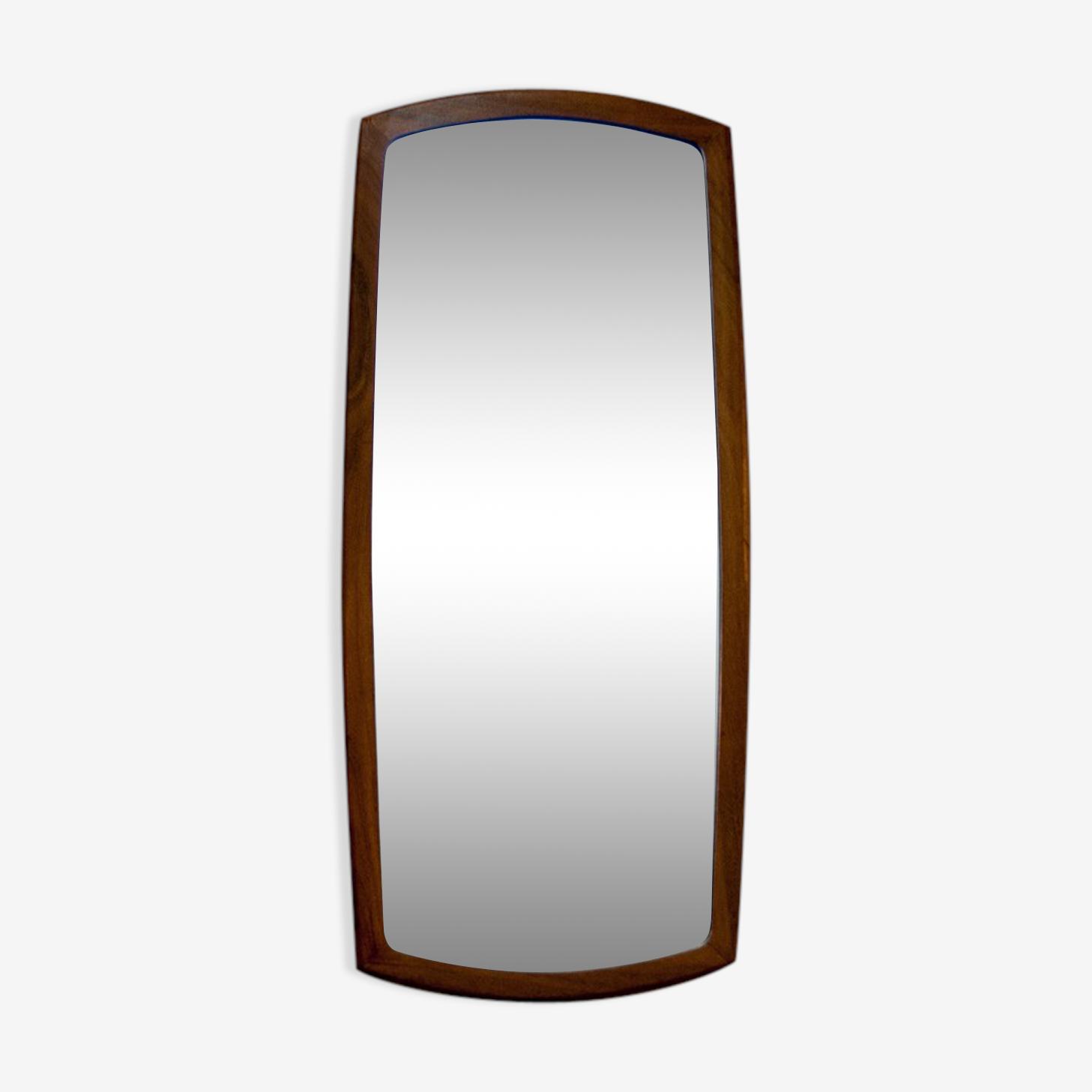 Flared Scandinavian mirror 79x36cmcm