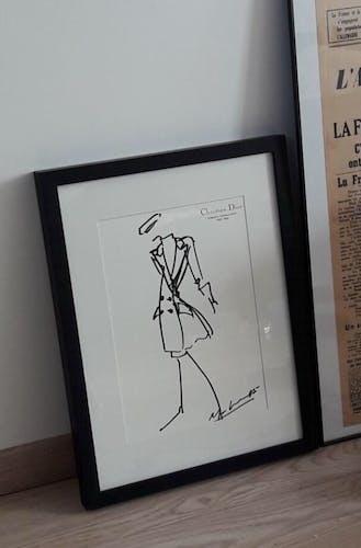 Christian Dior, illustration