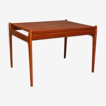 Danish coffee table in teak, 1960
