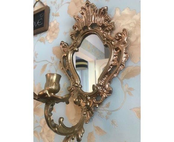 Gorgeous candlestick mirror 32x20cm