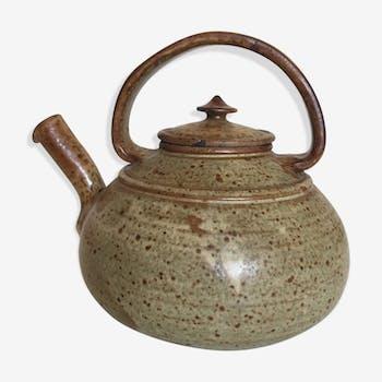 La Borne 70s pyrity sandstone teapot