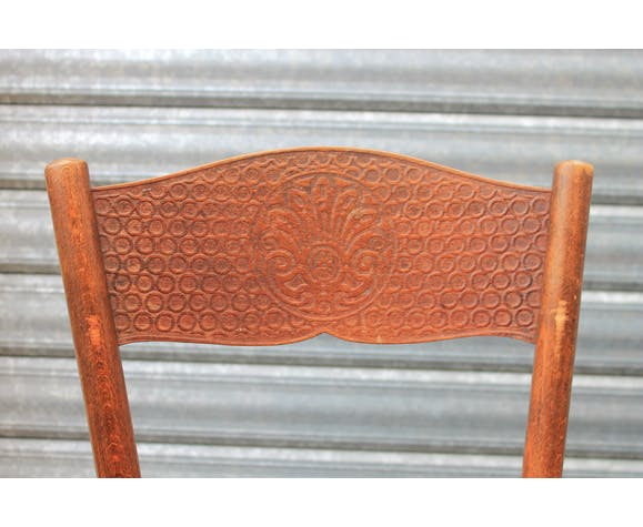 8 chaises bistrot Fischel