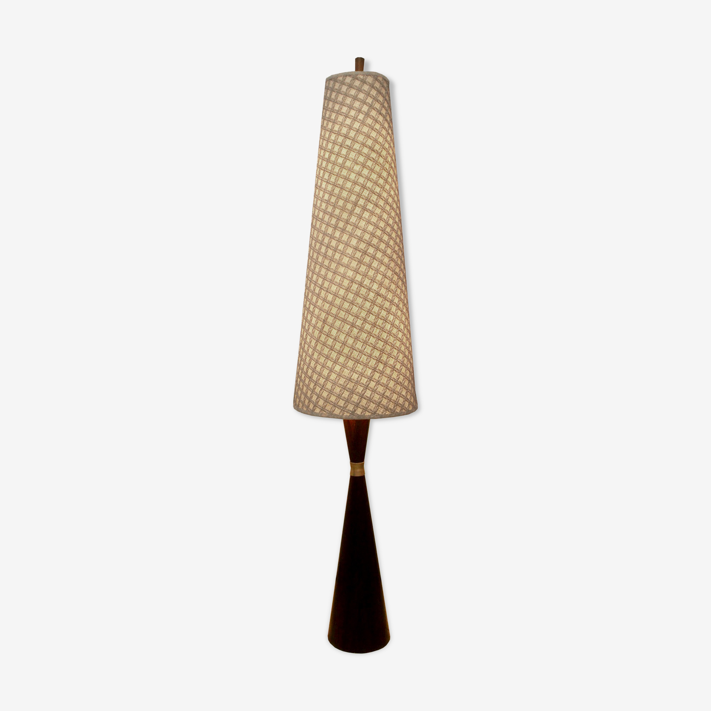 Lampadaire danois des années 1960 en palissandre