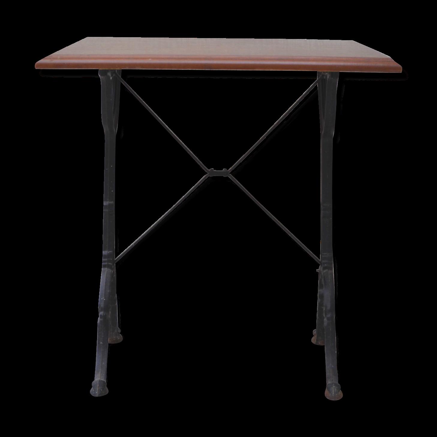 table bistrot carree excellent table pliante carr en teck ecograde bistrot x with table bistrot. Black Bedroom Furniture Sets. Home Design Ideas