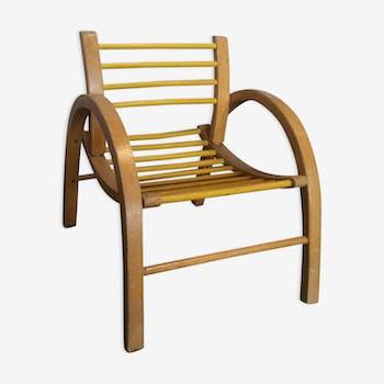 Baumann vintage chair with bars