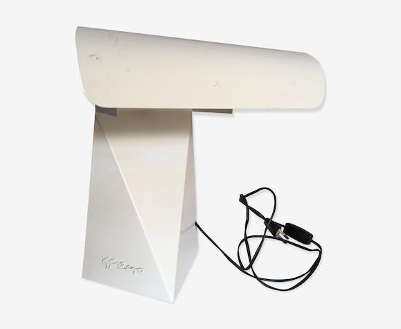 Lampe Bonne Soeur Design Italien Annees 70 G Grapo Tole Emaillee
