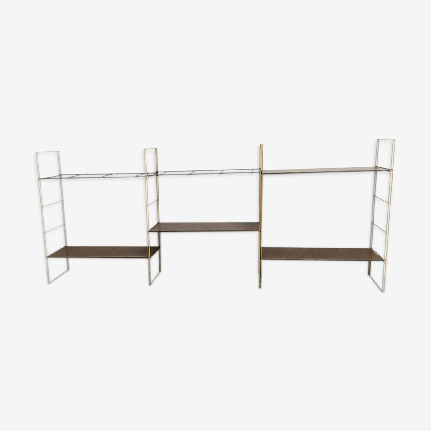 Shelf triple wall string vintage 1960