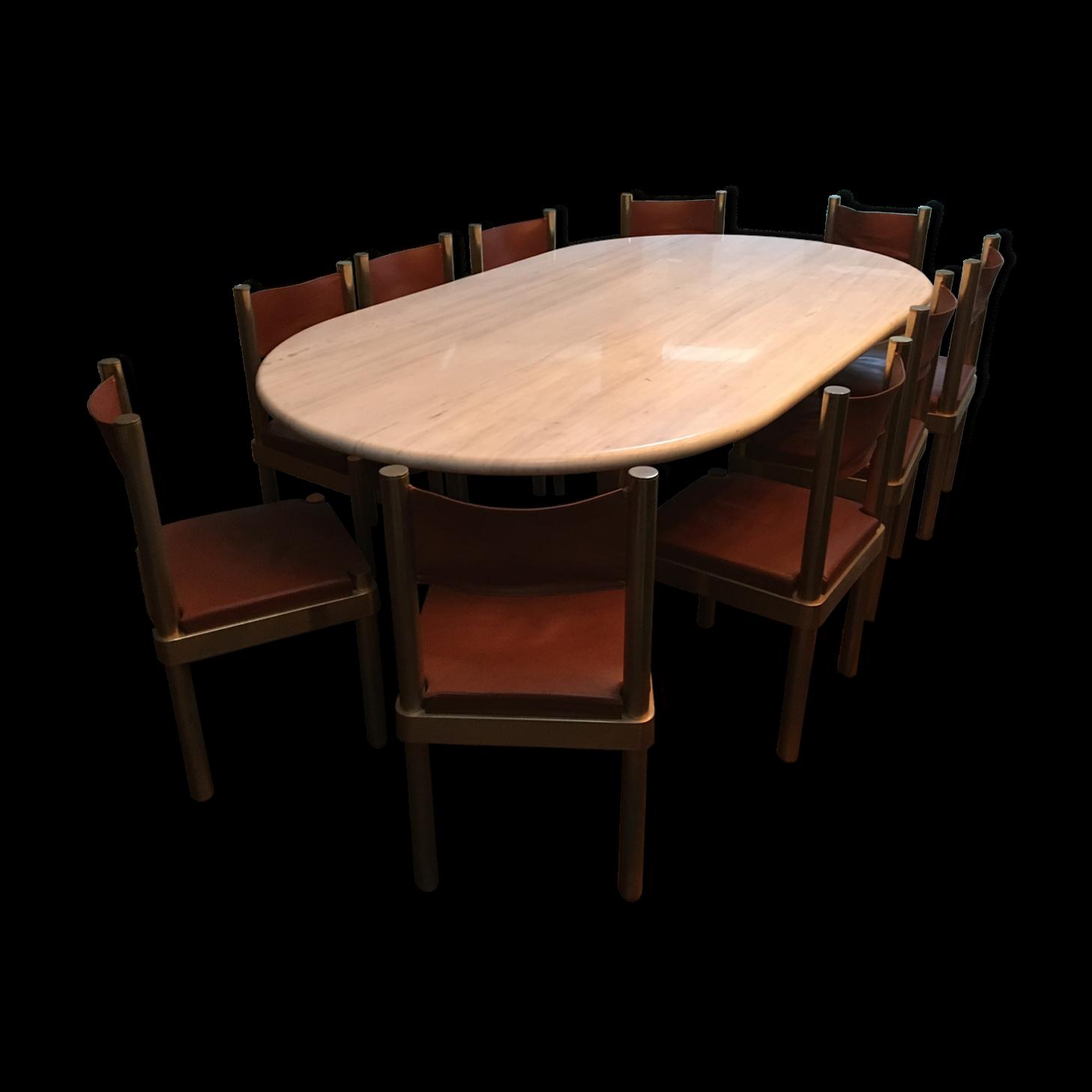 Table ovale marbre design stunning table knoll ronde - Table ovale marbre design ...