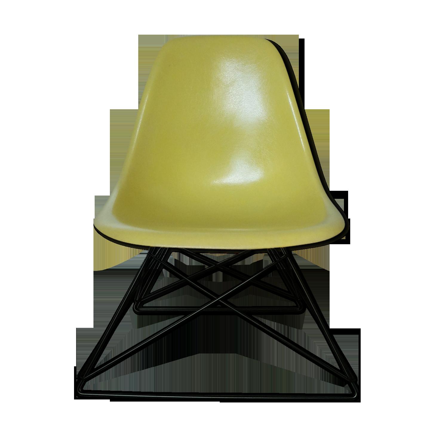 1 shock mount chaise EAMES fibre de verre Herman Miller Vitra shockmounts mounts