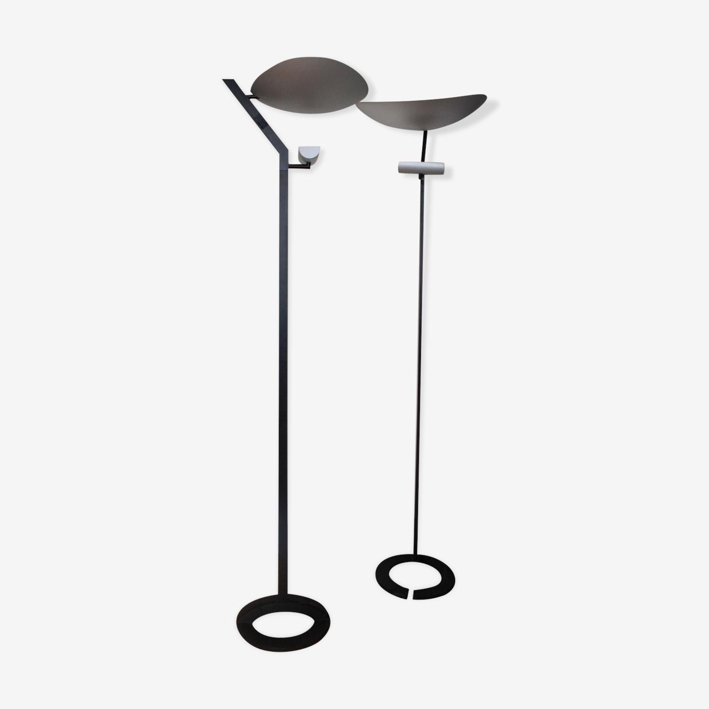 Paire de lampadaires Artemide par E. Gismondi modèle Zen