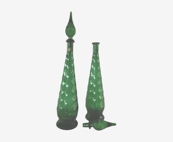 Paire de bouteilles Empoli des années 1950