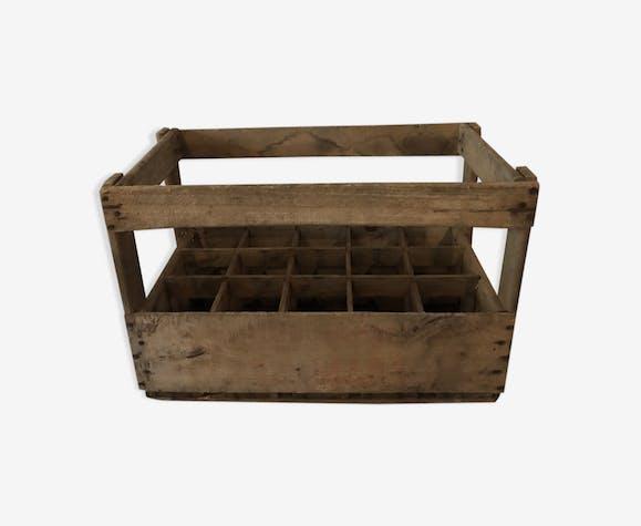 Bottle wooden rack