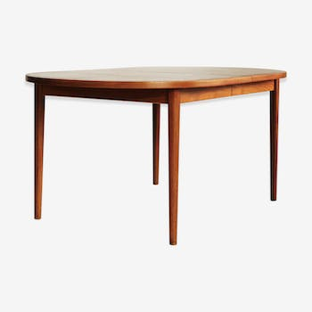 Table de salle manger vintage d 39 occasion - Table extensible scandinave ...