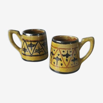 Paire de mugs en céramique