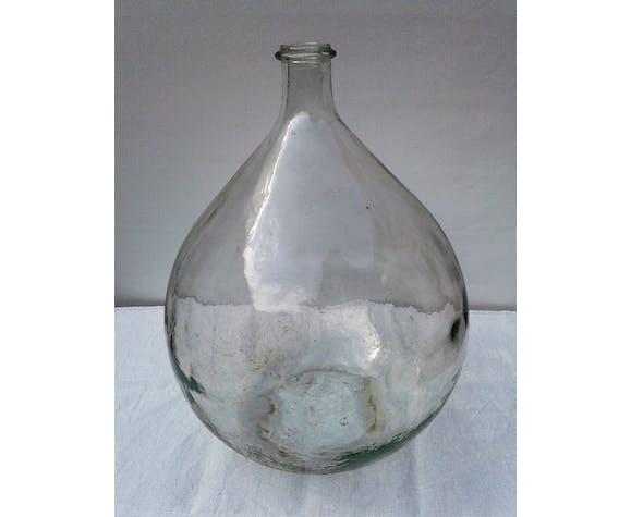 Dame-jeanne en verre transparent 20 litres