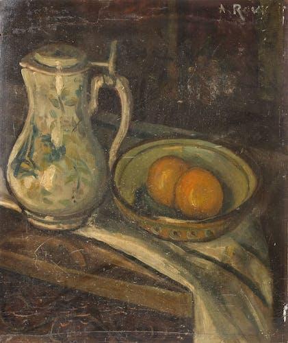 Peinture ancienne huile