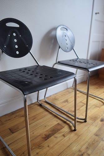 Duo de chaise «Charlie» par Carlo Bimbi