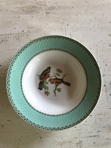 Lot de 4 assiettes creuses vintage