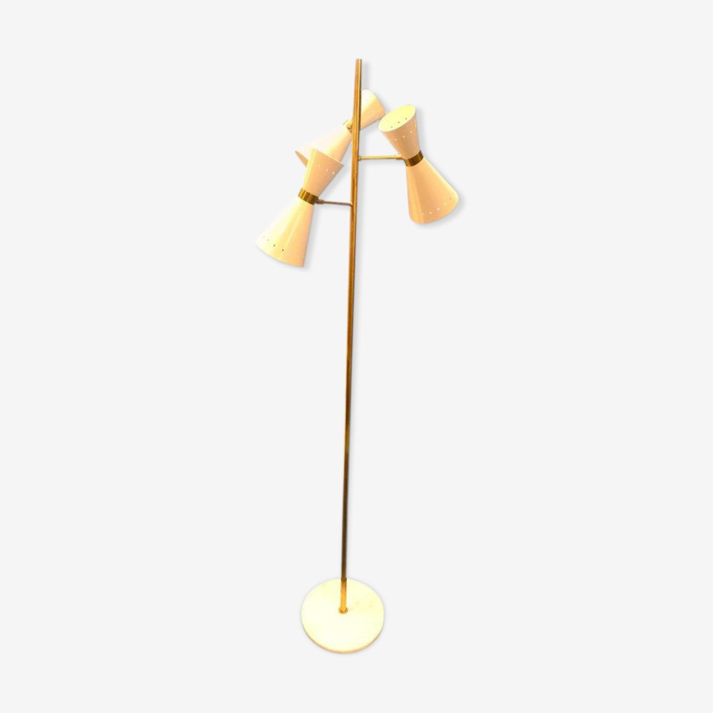 Lampadaire en laiton