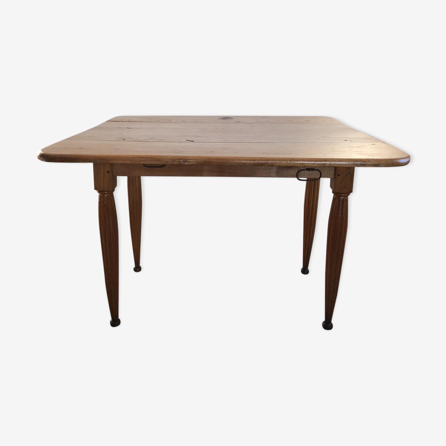 Square Oak farm table