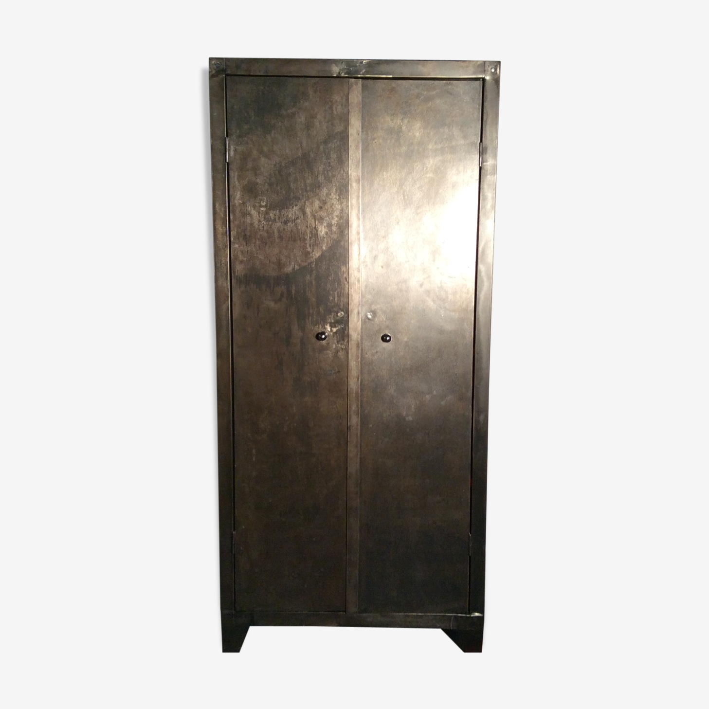 armoire metallique porte coulissante occasion. Black Bedroom Furniture Sets. Home Design Ideas