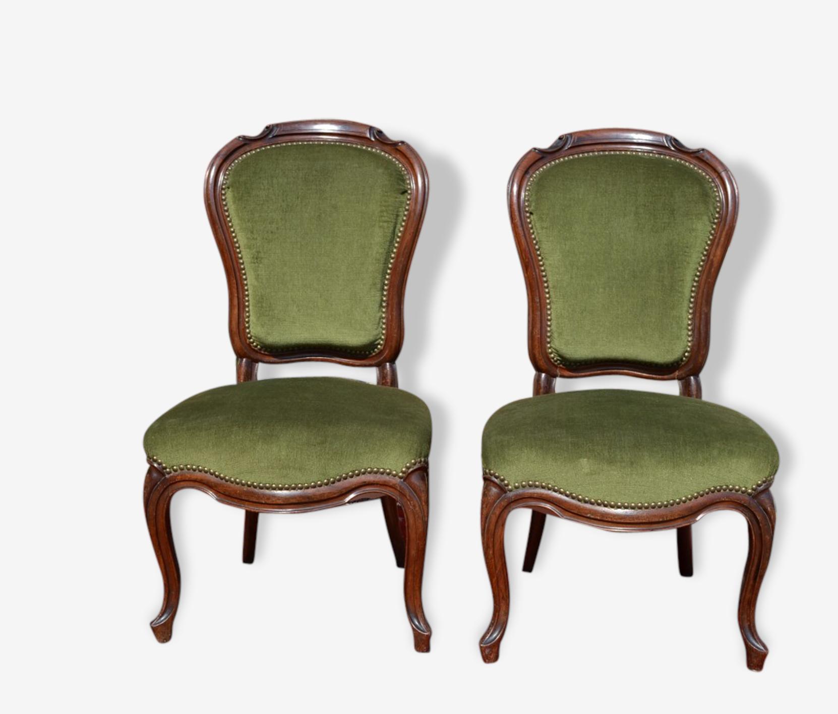 Paire de chaise Louis Philippe