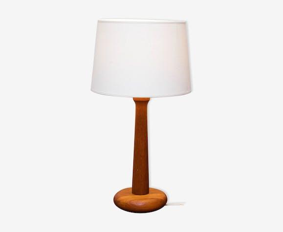 Lampe de bureau en teck Danemark 1970s