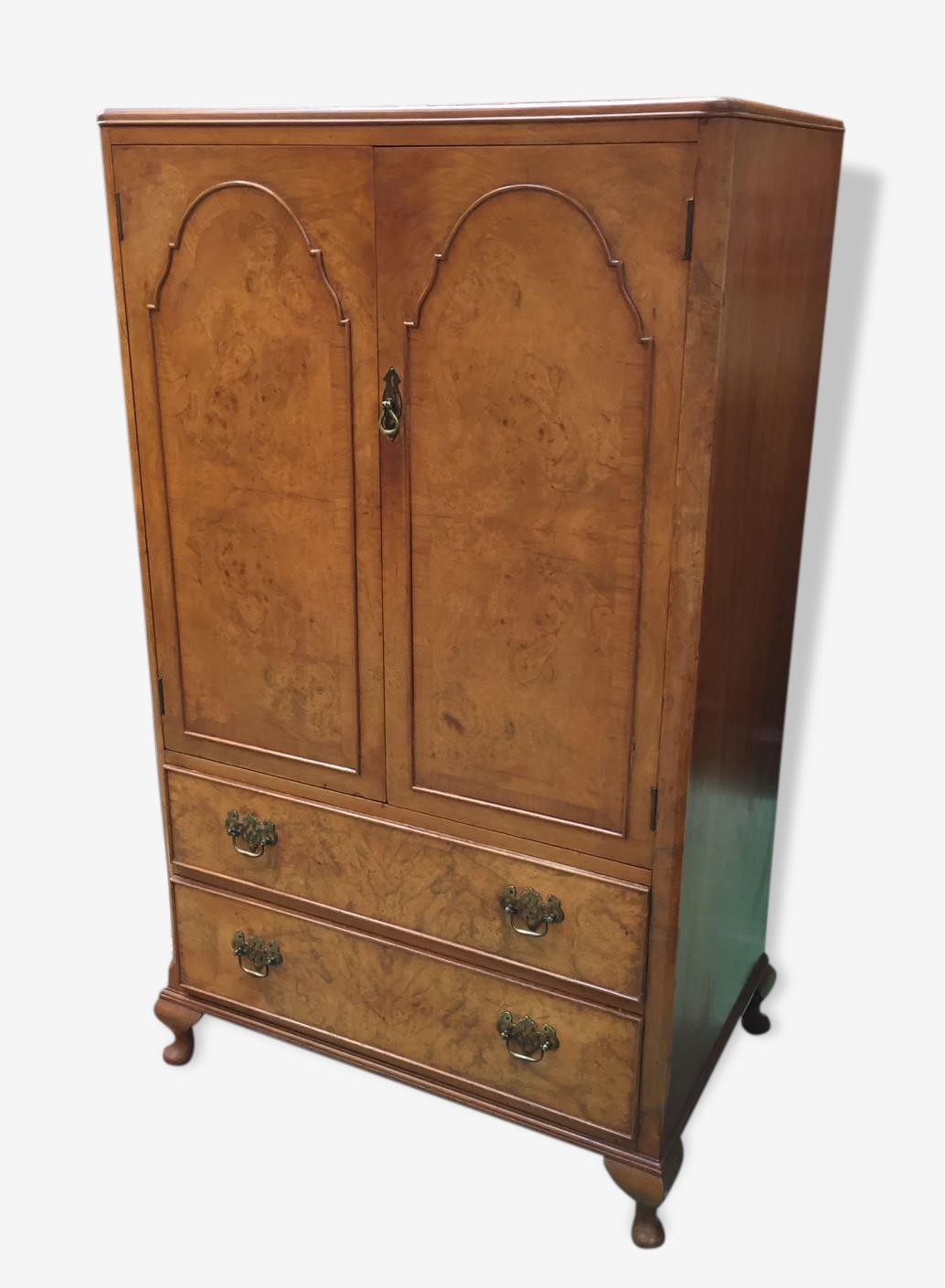 Meuble anglais années 30 bois Matériau bois Couleur