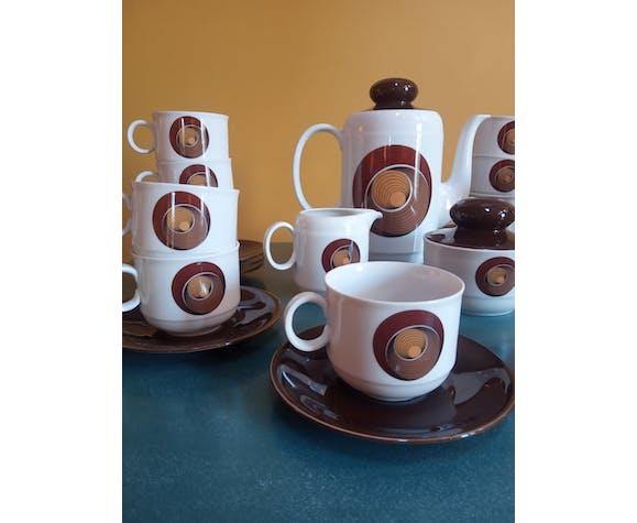 Service à café vintage Bavaria 1970