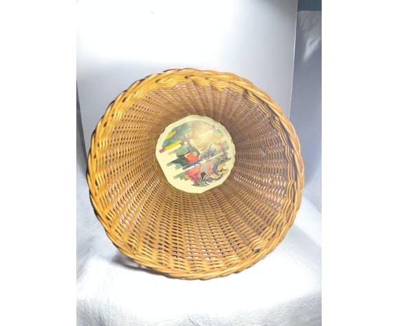 Corbeille à papier vintage