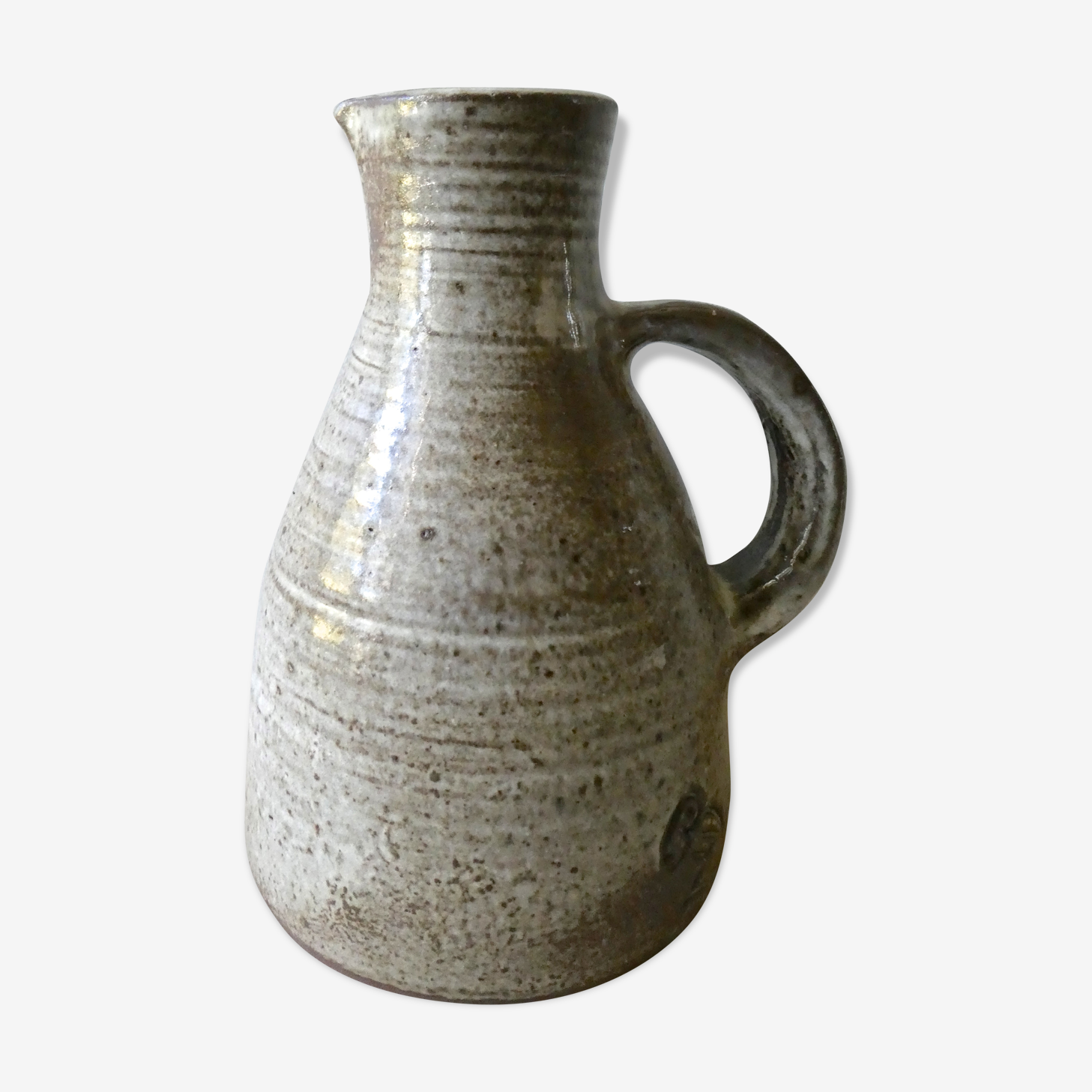 Pitcher in sandstone of Jeanne and Norbert Pierlot 60s