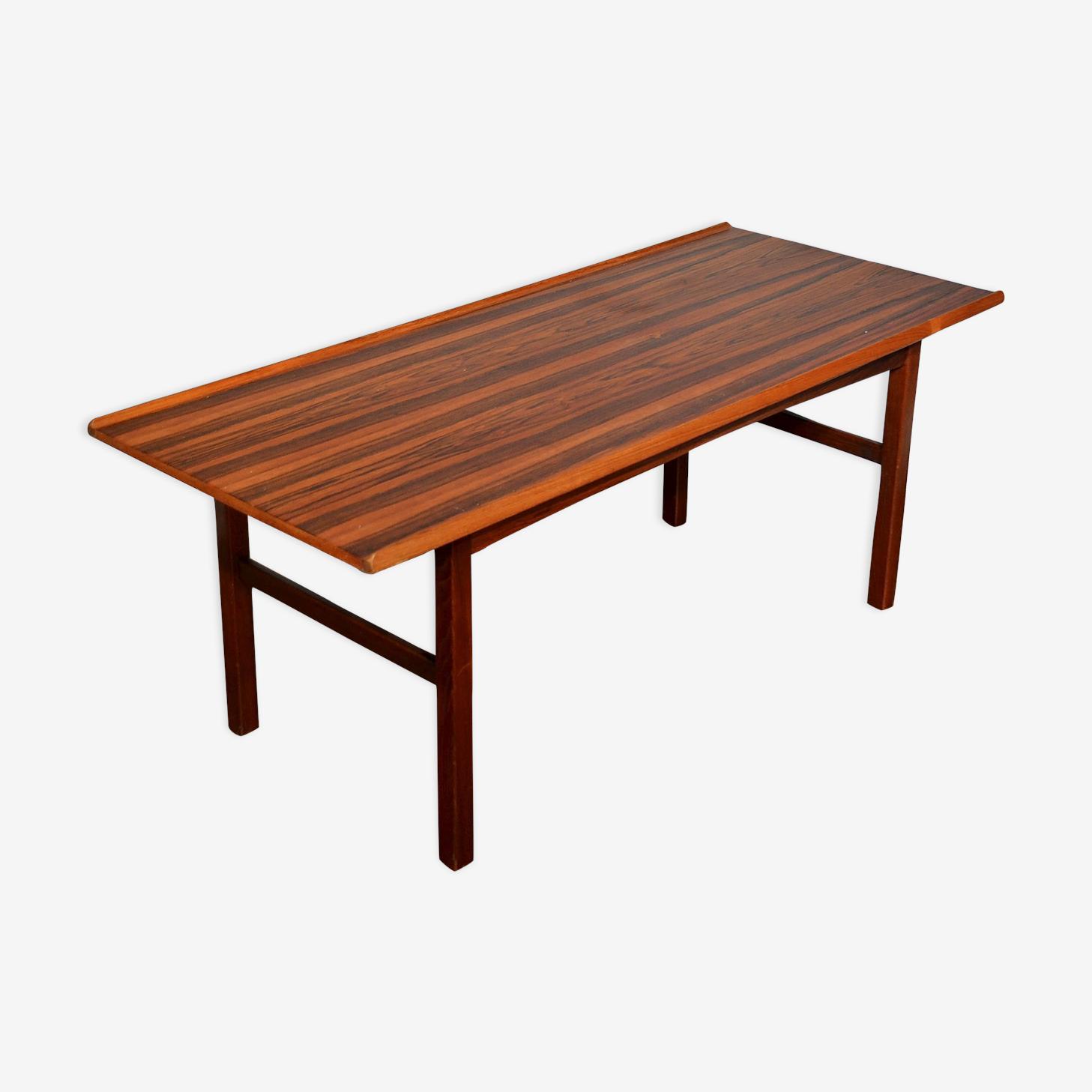 Danish coffee table in rosewood by Anton Kildeberg