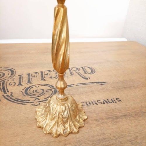 Brass candlestick